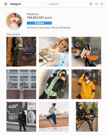 Fashion hashtags for instagram in 2019